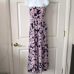 Lularoe Purple Floral Maxi